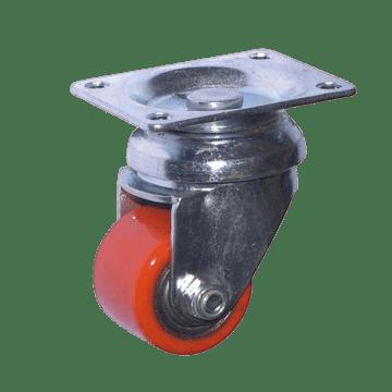 Мебельное колесо SCp 17 поворотное полиуретановое