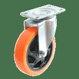 Колесо SCp 42 PVC полиуретановое поворотное PVC (Medium)