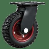Колесо PRS 250 большегрузное рифленое поворотное