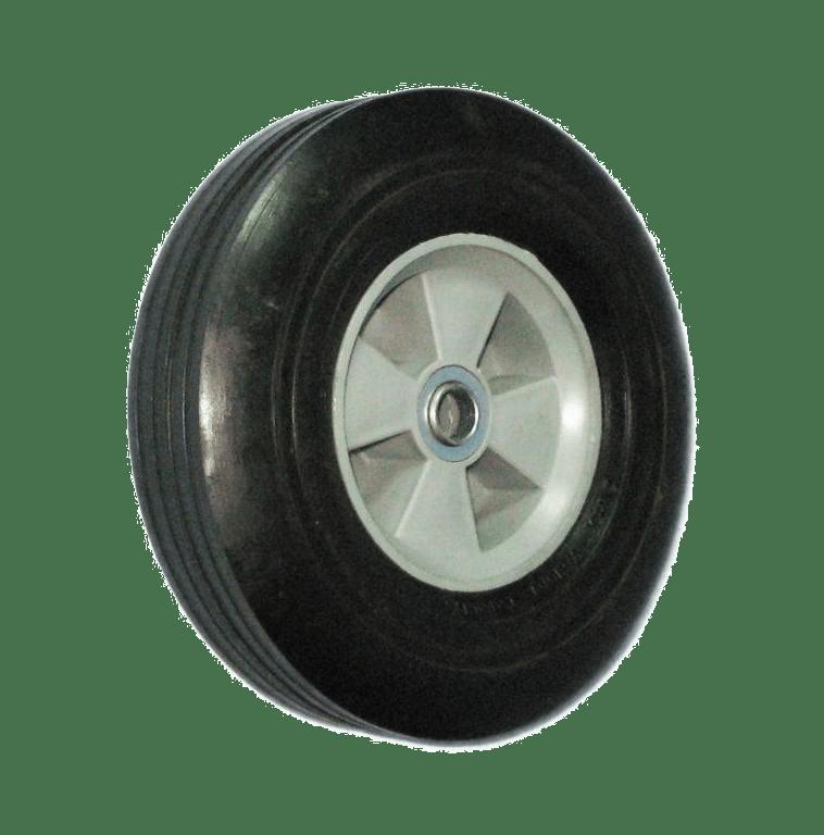 Колесо на литой резине (пластиковый диск) SR1512 16мм