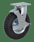 Колесо PRSb 160 большегрузное рифленое поворотное с тормозом
