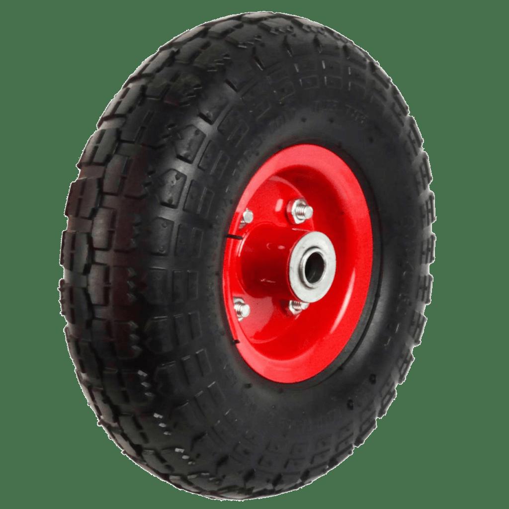 Колесо вспененный полиуретан (металлический диск) PU1804 16мм