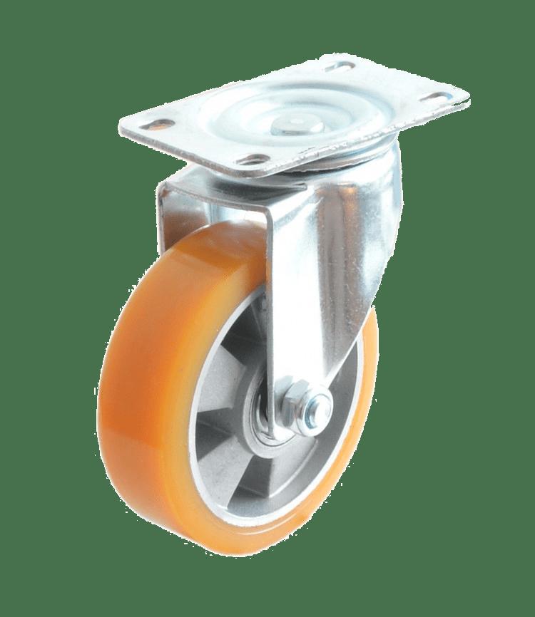 Колесо SCp 93 M полиуретановое поворотное (Medium)