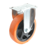 Колесо FCp 46 PVC полиуретановое неповоротное PVC (Medium)