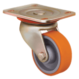 Колесо ED01 VBP 150 полиуретановое поворотное