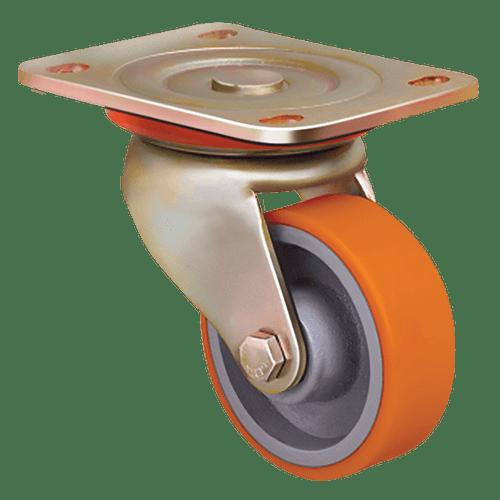 Колесо ED01 VBP 200 полиуретановое поворотное