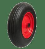 Колесо вспененный полиуретан (металлический диск) PU3018 (400-8) — 1 20 мм