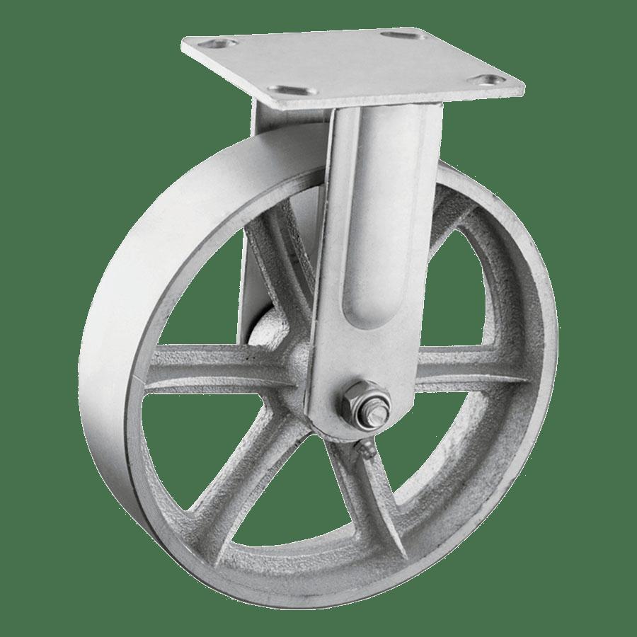 Термостойкое колесо FCds 80 из углеродистой стали неповоротное