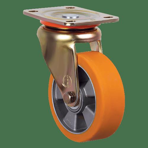 Колесо полиуретановое большегрузное поворотное