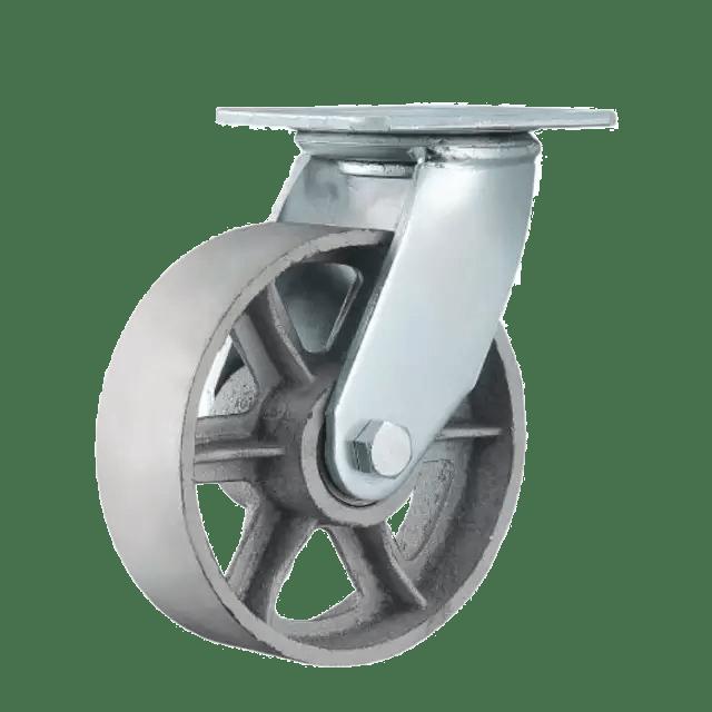Термостойкое колесо SCds 55 из углеродистой стали поворотное