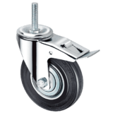 Промышленное колесо SCtb 80 с болтом и тормозом