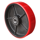 Рулевое колесо полиуретановое с подшипником D 200