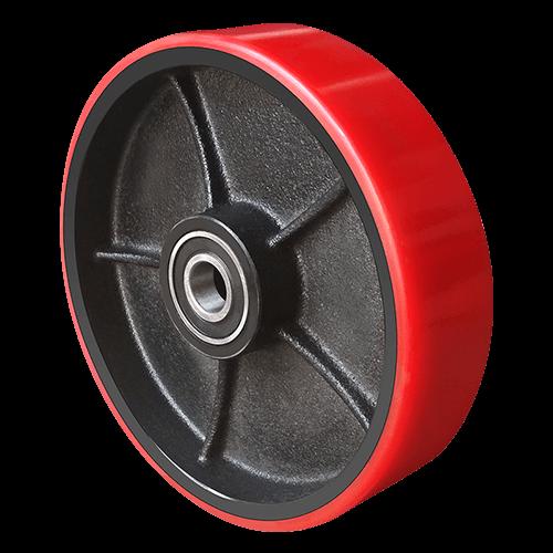 Рулевое колесо полиуретановое с подшипником D 180