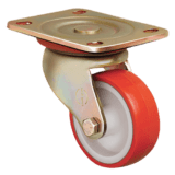 Колесо ED01 ZBP 200 полиуретановое поворотное