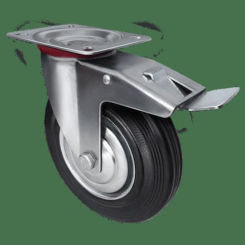 Промышленное колесо поворотное с тормозом SCb 93