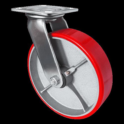 Колесо SCp 42 большегрузное полиуретановое поворотное