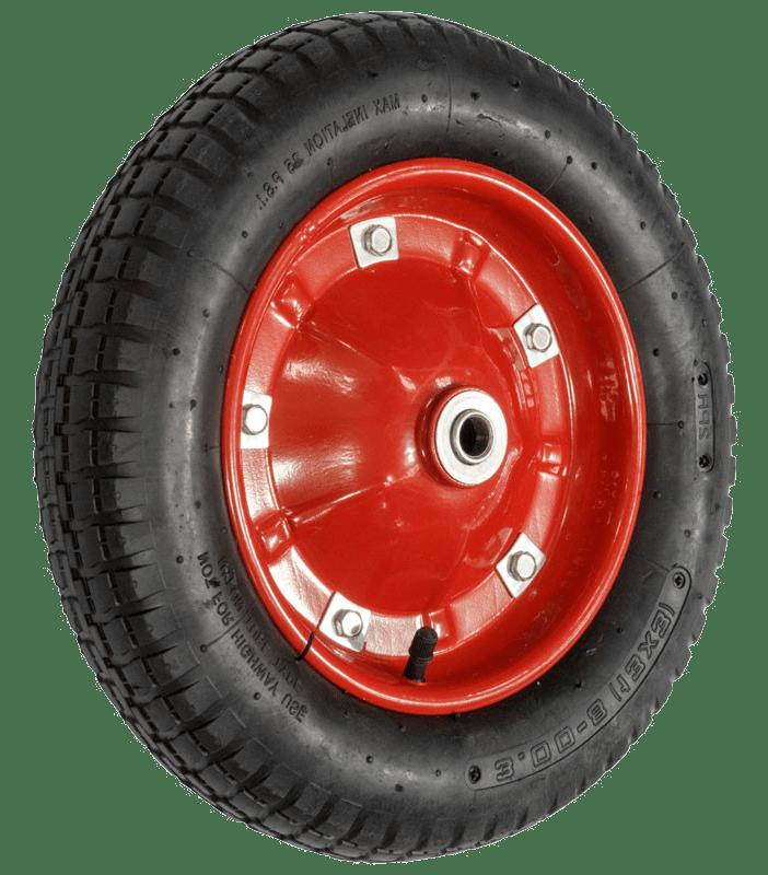 Колесо пневматическое (металлический диск) PR2400 20мм (неразбор)