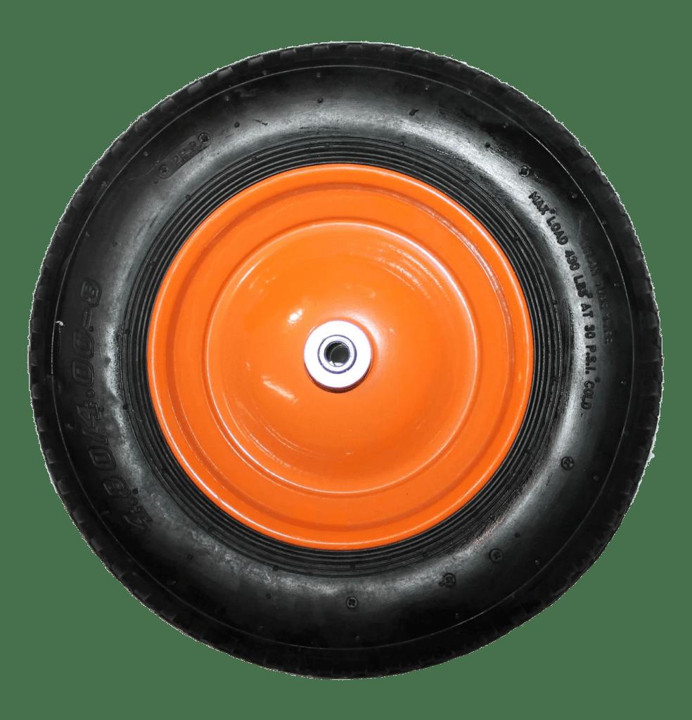 Колесо на литой резине (металлический диск) симметрия SR1900 16мм