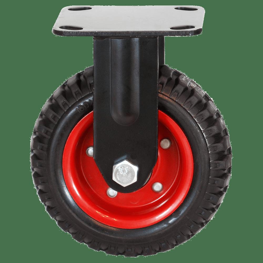 Колесо PRF 250 большегрузное рифленое неповоротное