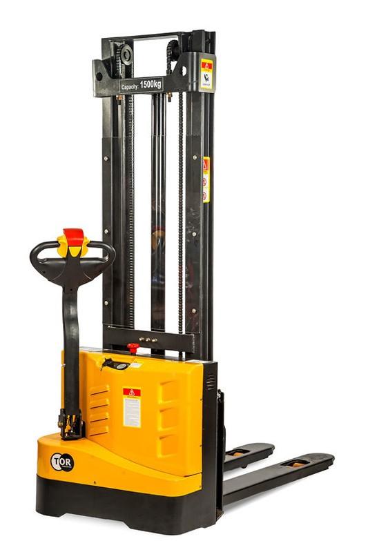 Штабелер электрический самоходный TOR 1,2т  3,0м WS12S-3000