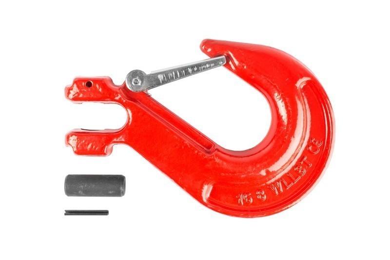 Крюк с вилочным креплением и защелкой TOR  г/п 8,0 тн