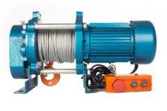 Лебедка TOR ЛЭК-500 E21 (KCD) 500 кг, 380 В с канатом 100 м