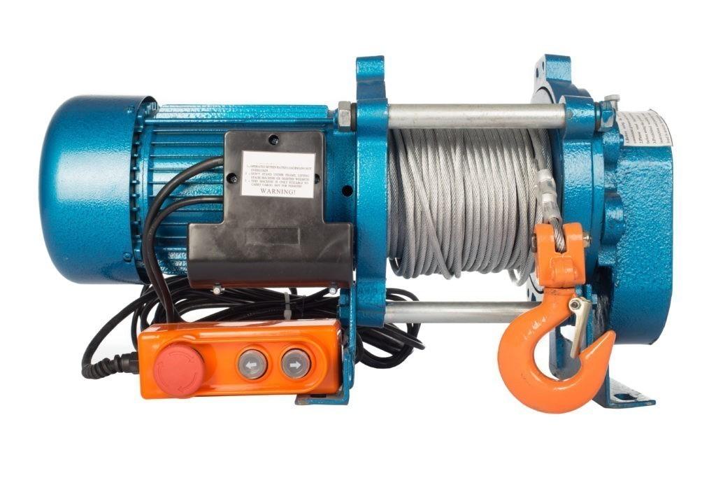 Лебедка TOR CD-1000-A (KCD-1000 kg, 380 В) с канатом 70 м