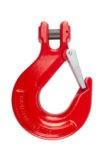 Крюк с вилочным креплением и защелкой TOR  г/п 21,2 тн