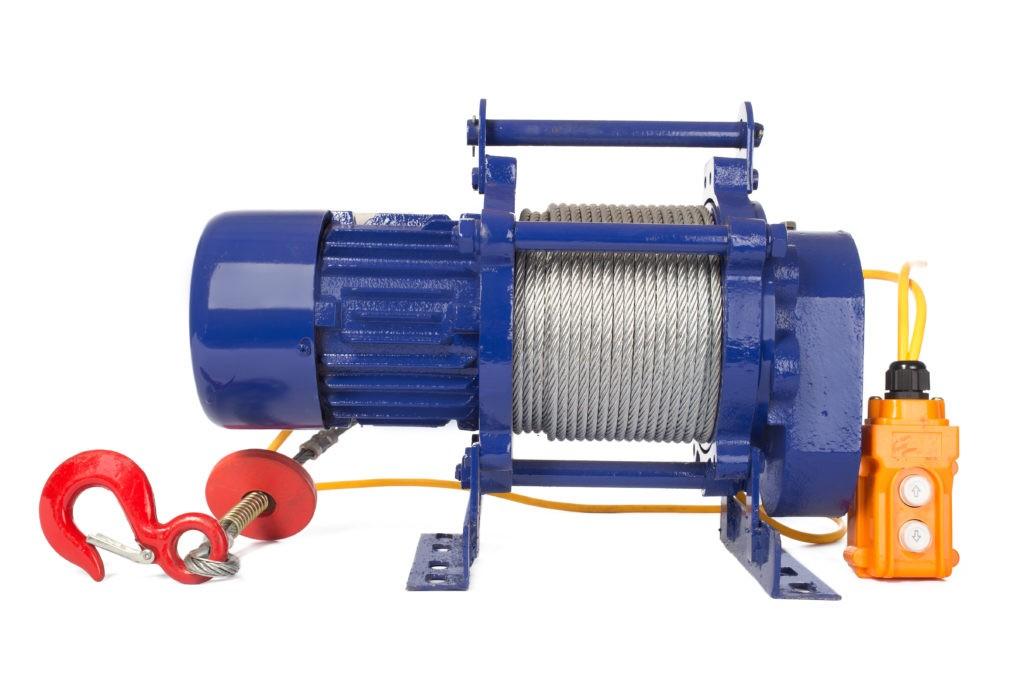 Лебедка TOR ЛЭК-300 E21 (KCD) 300 кг, 380 В с канатом 70 м